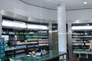 Spuck Schutz für Apotheken, Tischlerei Haase & Co. Mainz